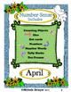 Number Sense: April Activities