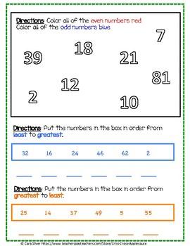 Number Sense Assessment