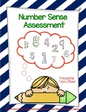 1st Grade: Number Sense Assessment