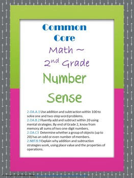 Number Sense Assessment Packet