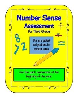 Number Sense Assessment - Third Grade