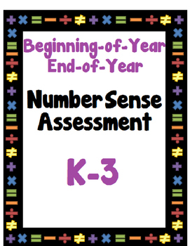 Number Sense Assessment for Primary Students