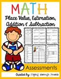Number Sense Assessments 4.NBT.1 4.NBT.2 4.NBT.3 4.NBT.4 E