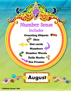 #christmasinjulyNumber Sense: August Activities