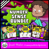 Number Sense Activities BUNDLE (Mental Math, Word Problems