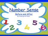 Number Sense - Before and After for the SMARTBoard