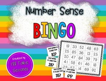 1 More, 1 Less, 10 More, 10 Less Bingo