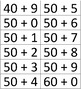 Number Sense Game (Bingo) to Practice Word Form, Expanded