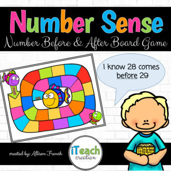 Number Sense Board Game: Numbers Before and After