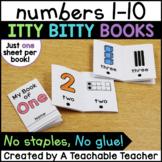 Number Sense Books {Itty Bitty Books}