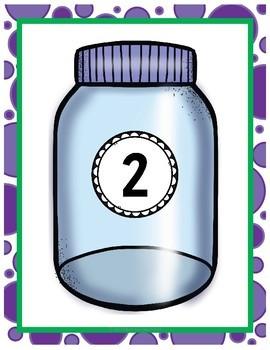 Number Sense Bug Jars. Quick Center-Math