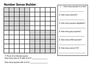 Number Sense Builder