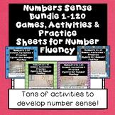 Number Sense Bundle 1-100