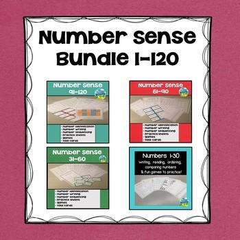 Number Sense Bundle  1-120