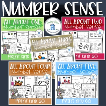 Number Sense Bundle 1 to 5