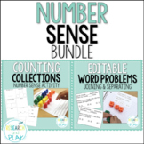 Number Sense Bundle: Counting Collections and Word Problems