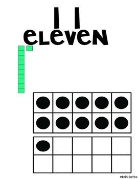 Number Sense Calendar Pieces