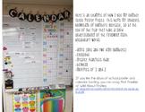 Number Sense Calendar Wall