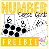 Number Sense Cards (0-20) - FREEBIE