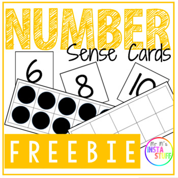 Number Sense Cards (0-20) - FREEBIE