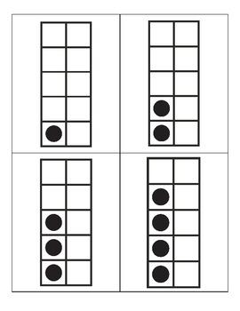 Number Sense Cards 1-10