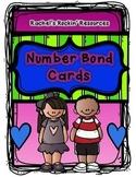 Number Sense Math Center - Number Bonds or Part-Part-Whole