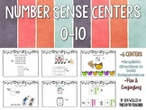 Number Sense Centers: 0 to 10