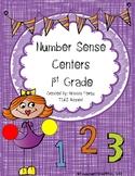 Number Sense Centers for 1st Grade