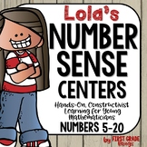Number Sense Centers for Composing and Decomposing Numbers with Lola