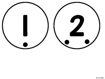Number Centres: Number Clip It!