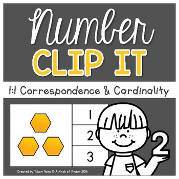 Number Sense Centres: Number Clip It!