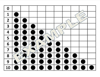 Number Sense Chart - recognition and correspondence