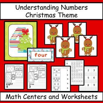Number Sense Christmas Theme