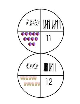 Number Sense Circles 1-12