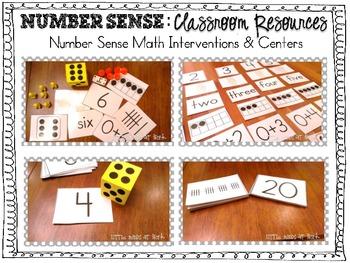 Number Sense: Classroom Resources