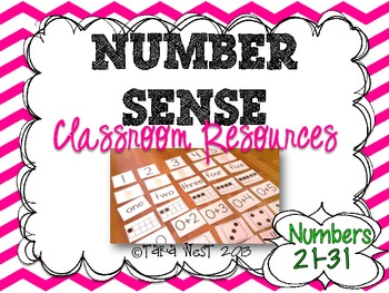 Number Sense: Classroom Resources Numbers 21-30