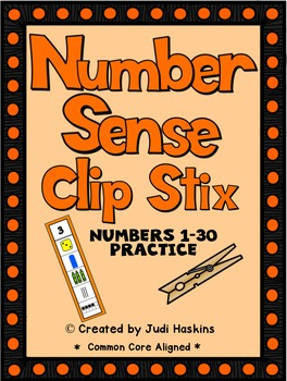 Number Sense - Clip Stix