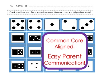 Number Sense! Common Core Building to 5