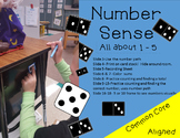 Number Sense Game Building to 5