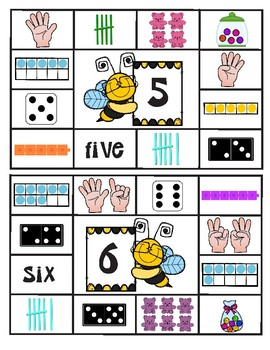 Number Sense Count and Cover Center