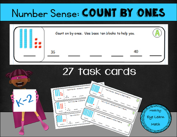 Number Sense: Count by Ones