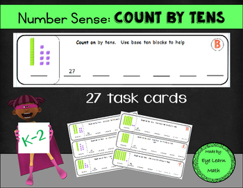 Number Sense: Count by Tens