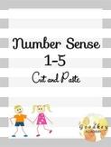 Number Sense - Cut and Paste