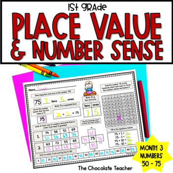 Number Sense Activities Daily Math Month 3