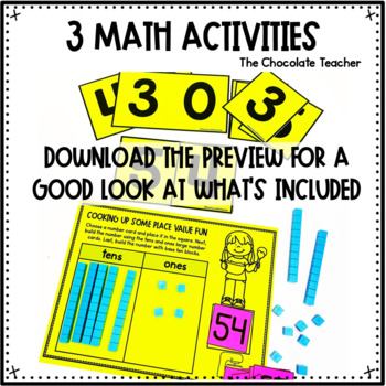 Number Sense Activities Daily Math Month 3 Number and Operations in Base 10