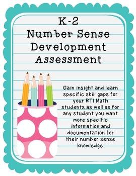Number Sense Development Assessment