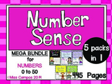 Number Sense Development to 50 (BIG BUNDLE)