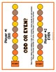 Number Sense Dice Partner Games for Grades 1-2 (Fall-Themed)
