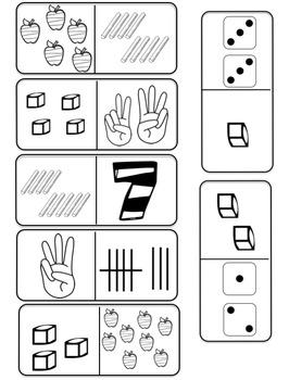 Number Sense Domino