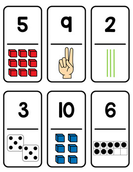Number Sense Dominoes